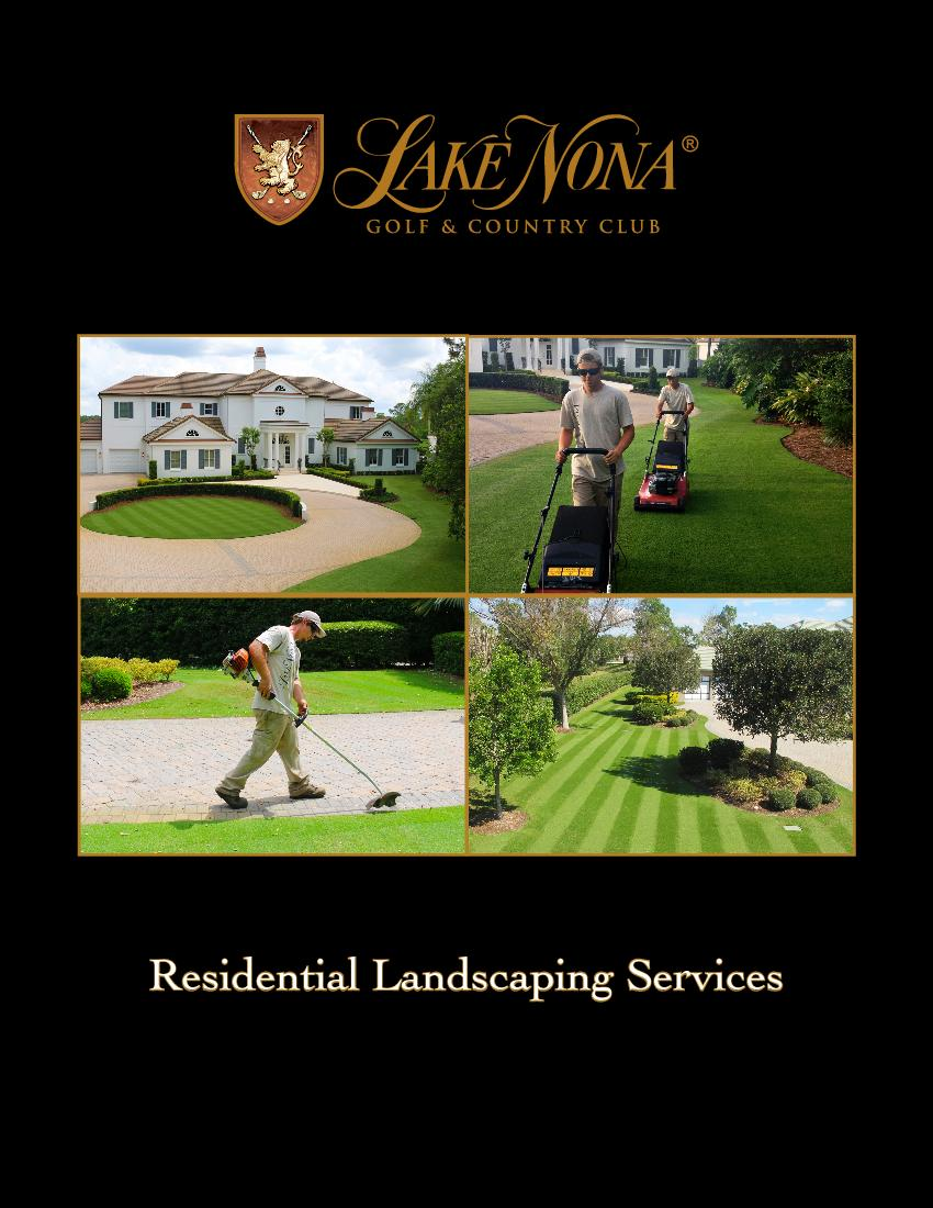 Residential Landscaping Services 2 Meet
