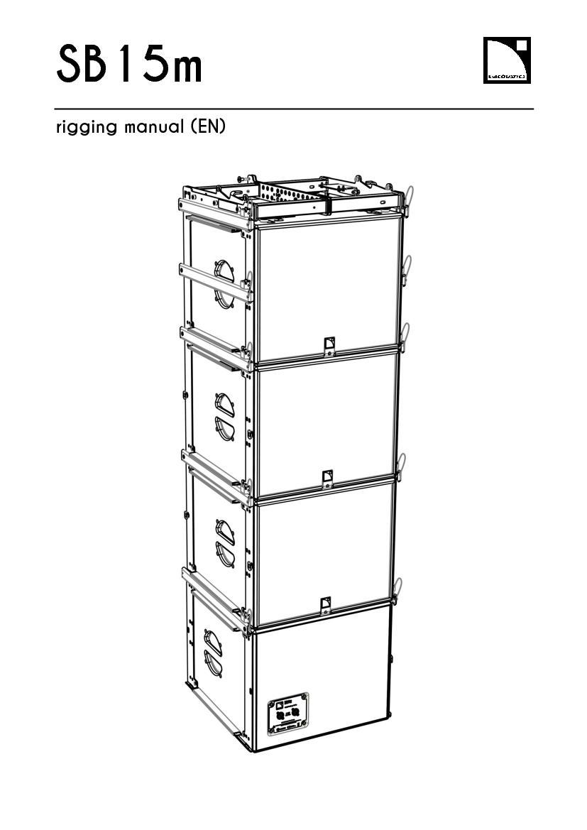 SB15m   rigging manual (EN)