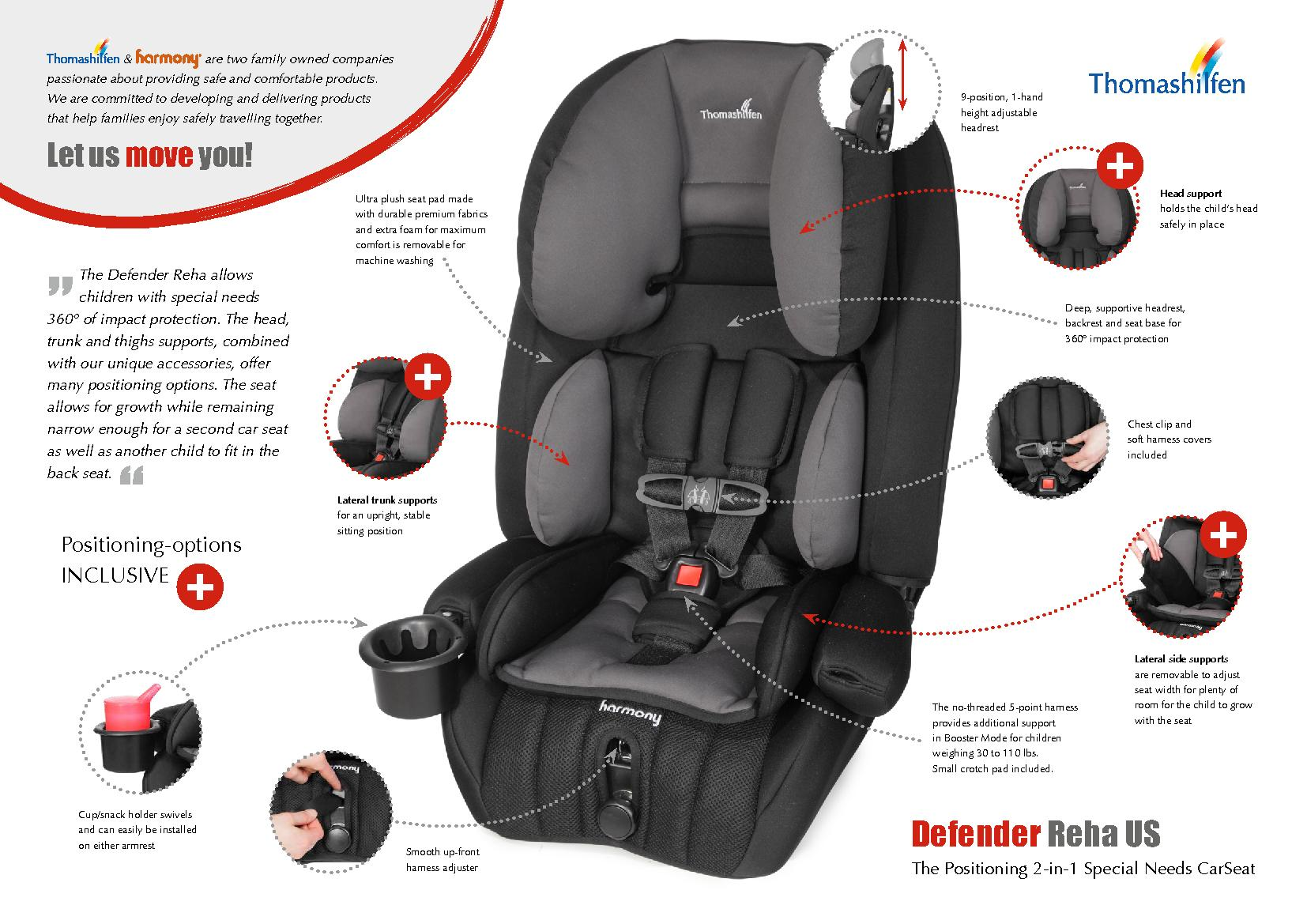 the back seat. DefenderThe Positioning