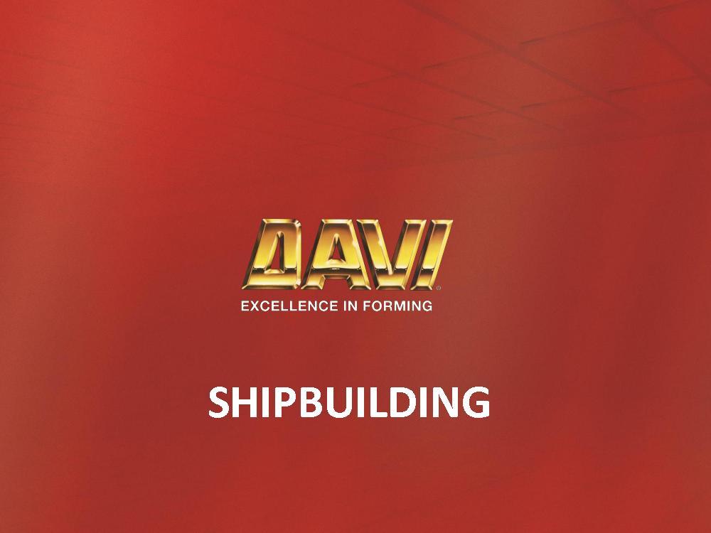 SHIPBUILDING   �Copyright Promau 2017