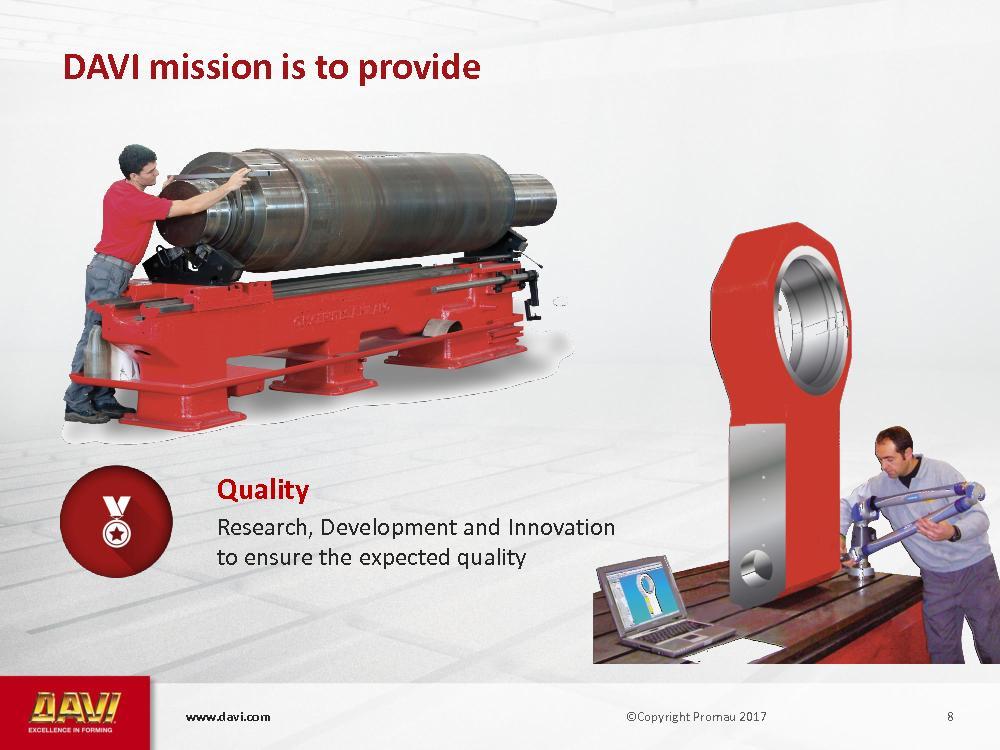 w.davi.com   6   Solutions   Quality   D
