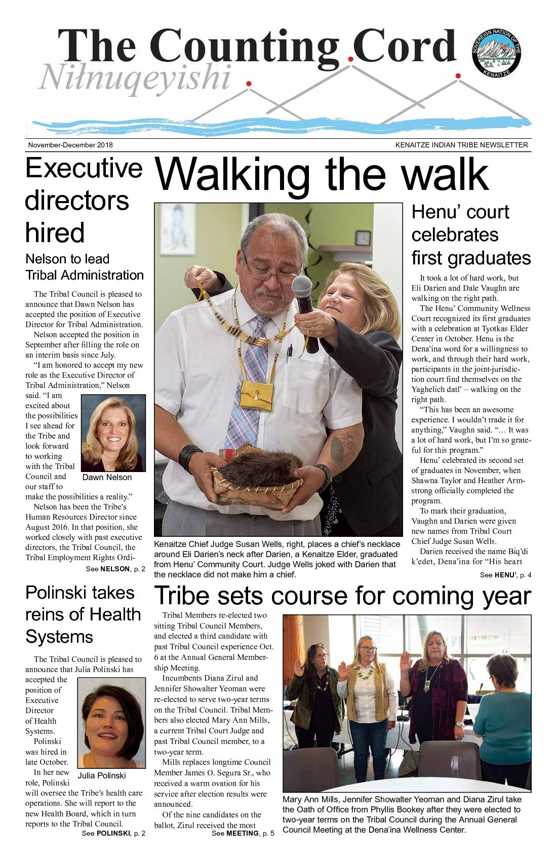 See MEETING, p. 5Walking the walkThe Tri