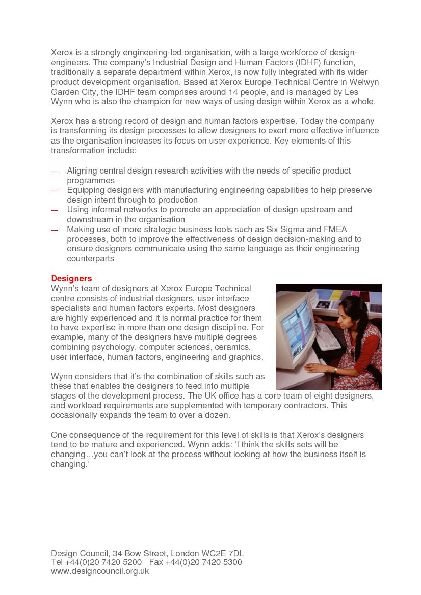 integrated designer and manufacturer of